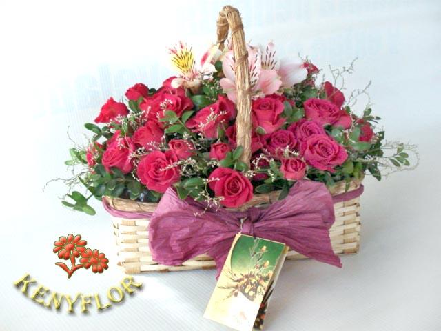 Flores Por Aniversario Floreria Keny Flor Arreglos